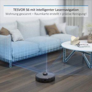 Staubsauger Roboter im Test - Lasernavigation